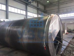 Резервуар РВС стальной вертикальный 400 кубов в Намангане