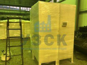 Упаковка продукции для АЭС в Намангане