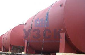 Горизонтальный резервуар РГС для ГСМ в Намангане
