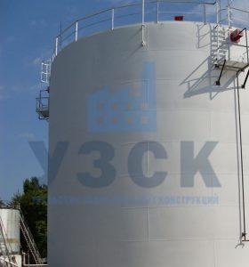 Резервуар вертикальный стальной 10000 кубов в Намангане