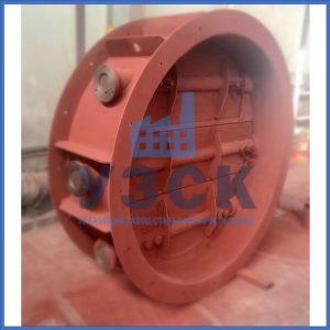 Клапан КЛК с МЭОФ трёхосный Ду 800,Ду 1000, Ду 1400 в Намангане
