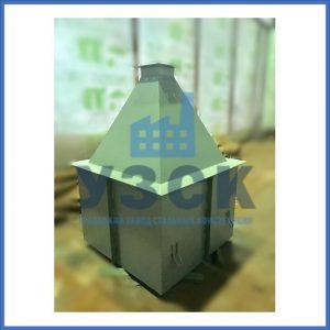 Купить бункер пирамидальный к циклонам ЦН в Намангане